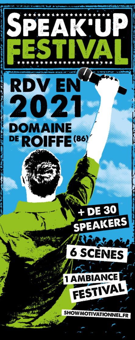 Affiche Speak'Up Festival